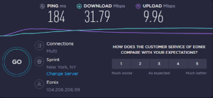 NordVPN-speed-Comparison