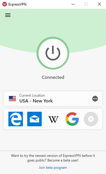 ExpressVPN-Interface