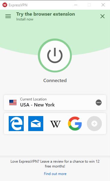 ExpressVPN-User-Interface