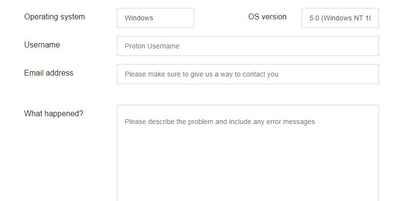 ProtonVPN-customer-support