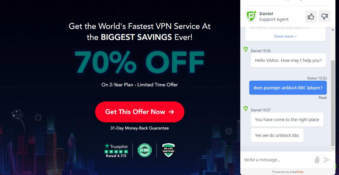 PureVPN-Customer-Support