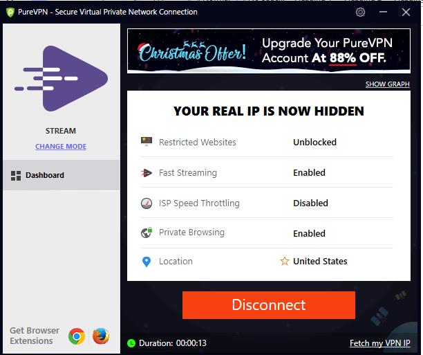 PureVPN-user-interface