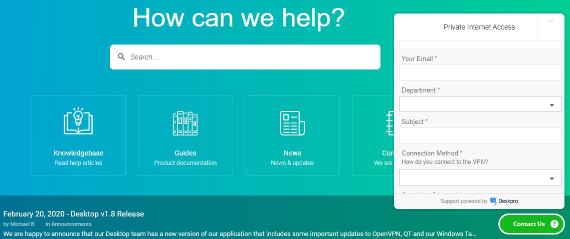 PIA-customer-support