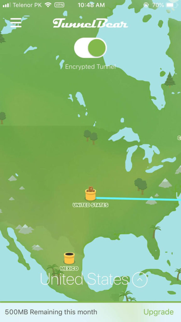a green map and a bear hopping